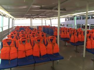 Boracay Express seats